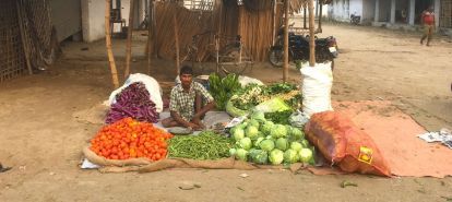 Bettiah. Bihar. In this market, a day after demonetisation, the price of cauliflower crashed from Rs 12 a kilo to Rs 1. https://scroll.in/article/822860/cauliflower-sells-for-rs-one-a-kilo-in-bihar-as-demonetisation-depresses-demand