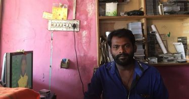 ChikkaTirupathi. Karnataka. A pensive photographer on Day One of Demonetisation. https://scroll.in/article/821155/all-these-notes-suddenly-have-no-value-small-traders-in-villages-struggle-to-cope-with-rupee-move