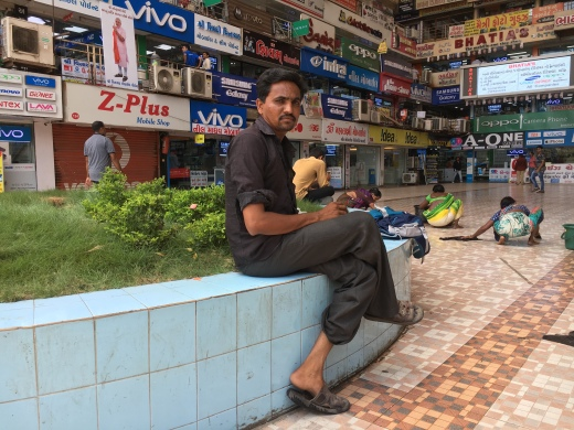 He left the diamond trade and moved to the textile cluster of Surat, Gujarat. Which shows distress for small units in diamond trade as well as contributes to distress in Surat's textile trade. All before GST came in and hammered things some more. https://scroll.in/article/842004/beyond-surats-gst-strike-new-technologies-chinese-imports-are-causing-a-churn-in-textile-sector