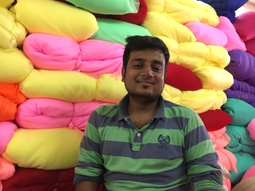 Textile trader at Surat, Gujarat