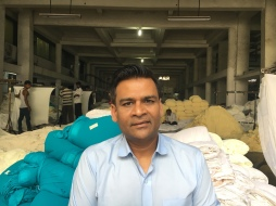 Owner of a textile factory in Surat, Gujarat