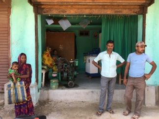 An unlikely shop in a village market near Araria, Bihar (https://scroll.in/article/837603/work-in-progress-what-the-changing-landscape-of-its-village-markets-says-about-bihar)