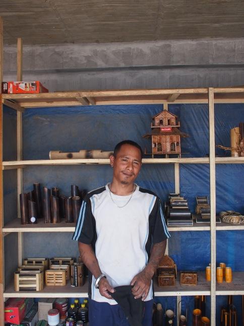 Artisanal artist in Lawangtlai, Mizoram