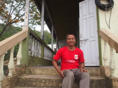 Government hospital ambulance driver, Champhai, Mizoram. The system when we visited was massively underfunded. See https://scroll.in/article/723915/aids-is-about-to-explode-in-mizoram-and-the-modi-government-is-partly-to-blame and https://scroll.in/article/724629/why-medical-workers-are-taking-personal-loans-to-keep-mizorams-healthcare-system-running