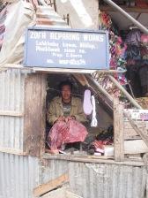 Cobbler at Champhai, Mizoram