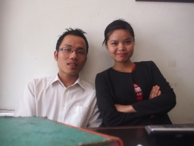 Young restauranteurs in in Aizawl, Mizoram