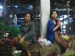 Vegetable market, Aizawl, Mizoram