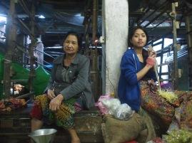 Vegetable market, Aizawl, Mizoram