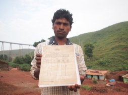 Villager, ripped off agri into mining work. Rayagada, Odisha