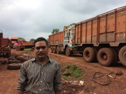 A truck owner who bet on the mining boom in Koyda, Odisha. Bought lots of trucks. And now stuck because the boom is gone. https://scroll.in/article/743164/odishas-mining-boom-is-over-and-everyone-is-scrambling-to-cut-their-losses