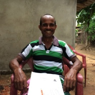 Freed bonded labour. Bolangir, Odisha