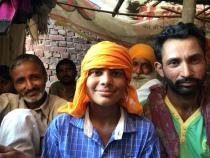 Hammals (loaders) at Amritsar's grain mandi.