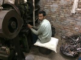 Migrant MSME worker at Ludhiana, Punjab.